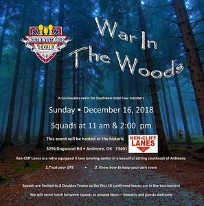 Southwest Gold Tour - War in the Woods