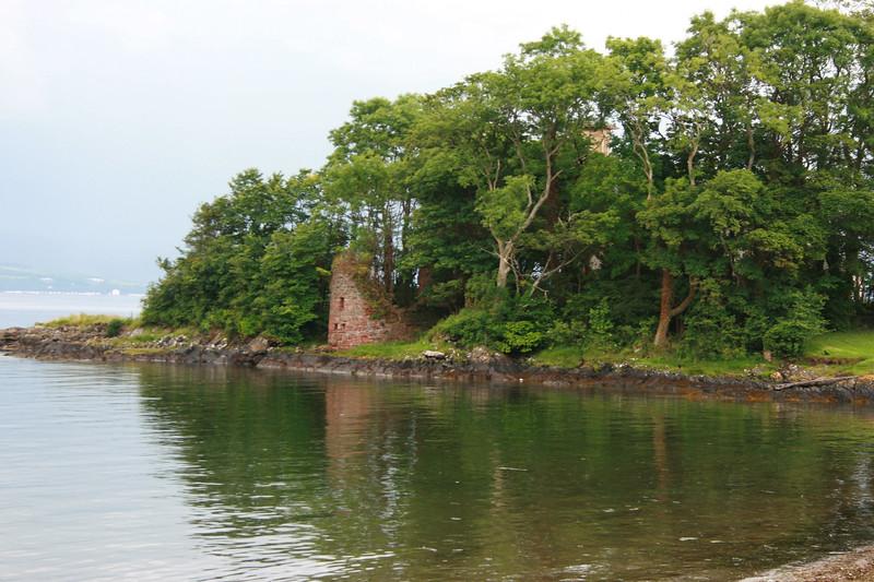Castle Ruins  on Ascog, Bute