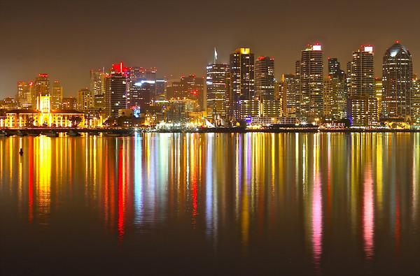 2014 01 09 San Diego Downtown Skyline