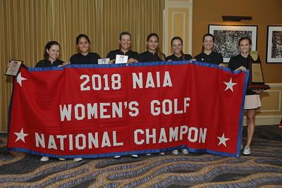 NAIA Women's Golf 2018 Championship