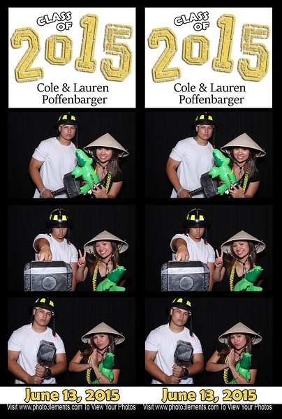 Cole & Lauren's Graduation Party 6-13-15