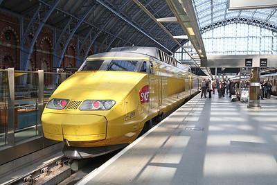TGV at St Pancras