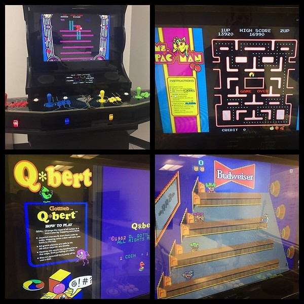 So many things to love about the @dynamic_signal office but I think one of my favs has to be our homemade 4-player retro arcade. Donkey Kong anyone?