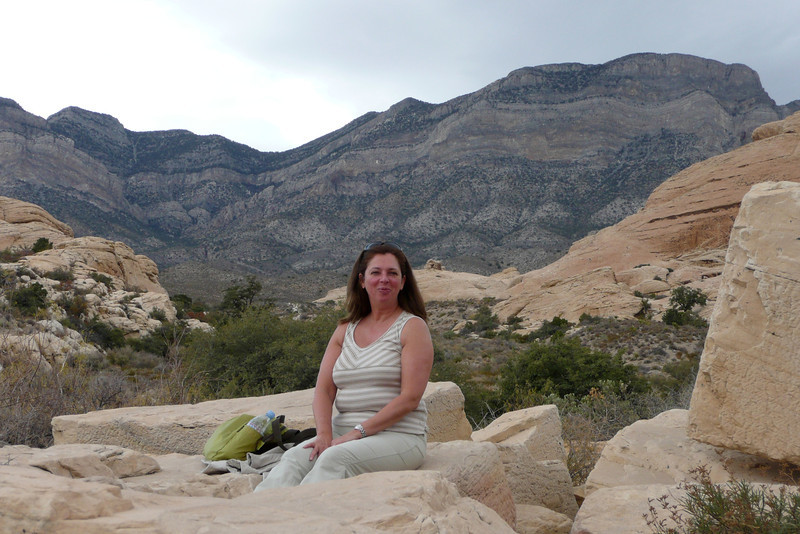 Sandstone Quarry. Red Rock Canyon