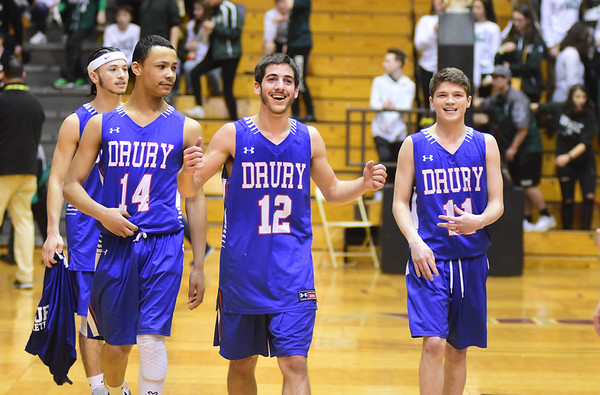 Drury Boys Basketball beat Ware - 030919