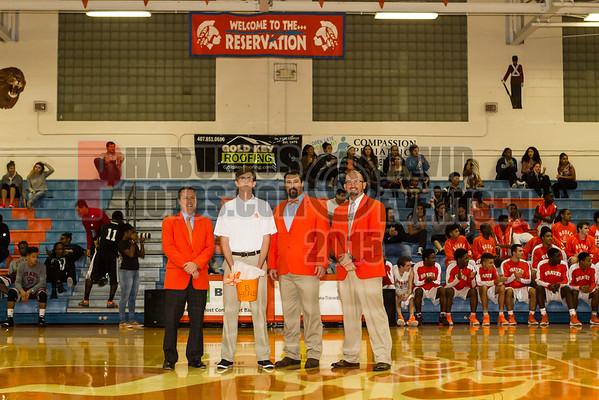 Cypress Creek Bears @ Boone Braves Boys Varsity Basketball - 2016