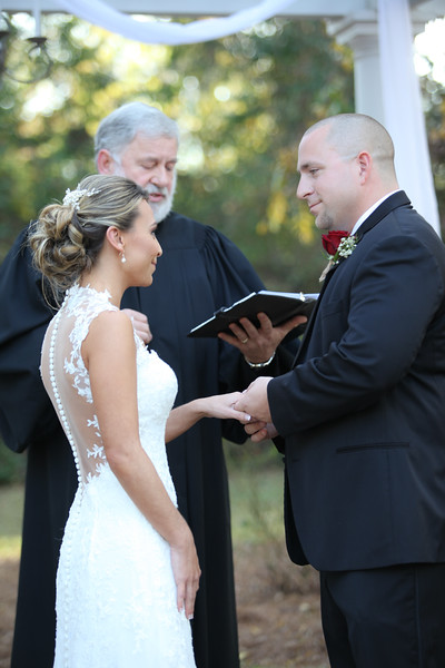 Justin and Tiffany Bass' Wedding Ceremony, The Grand Magnolia House