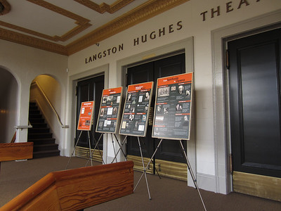 Leen Exhibit at Langston Hughes