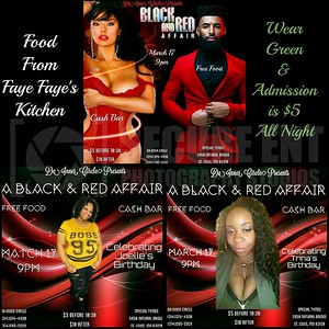 DA INNER CIRCLE BLACK & RED AFFAIR
