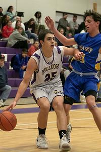 Monty Tech boys basketball, Jan. 9, 2020
