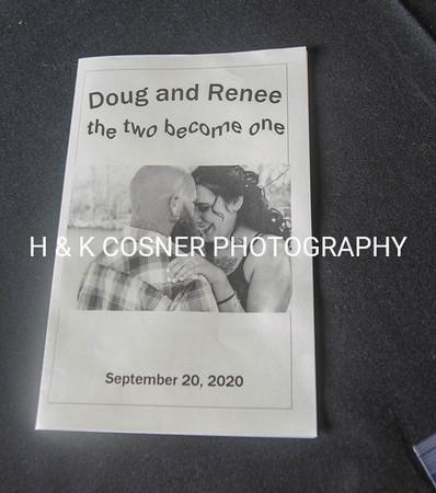 Renee & Doug wedding 9-20-20