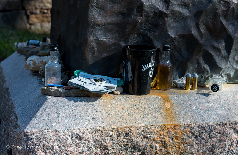 Remembrances at Wild Bill's Grave