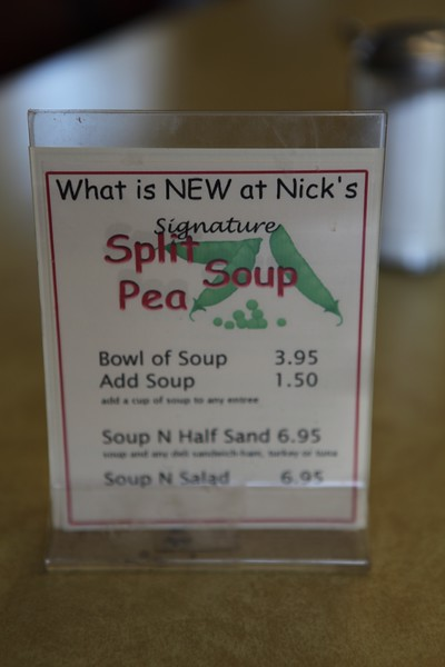 2011, Split Pea Soup