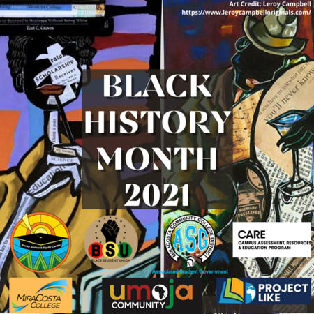 MiraCosta College Celebrates Black History Month with Myriad Activities