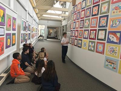 5th Grade - Arts Center Gallery - MS Exhibit