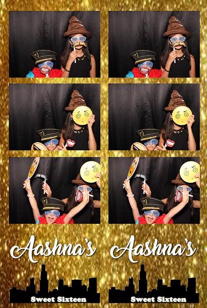 Aashna's Sweet Sixteen (08/05/18)