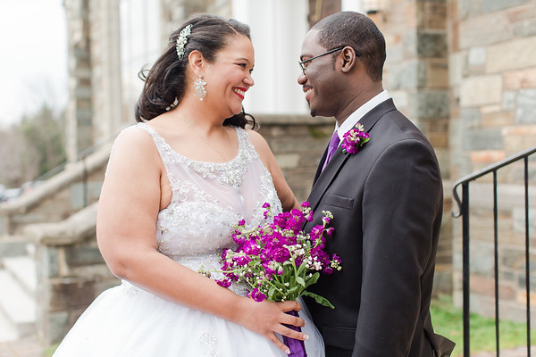 Monica & EJ: Bride & Groom Portraits