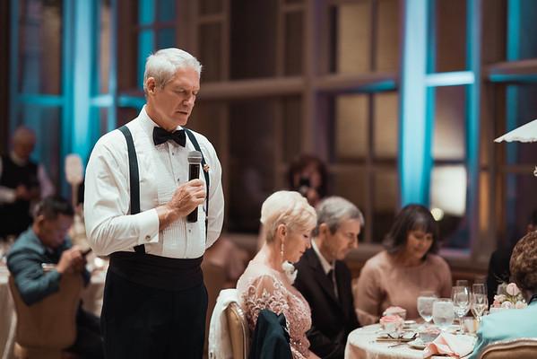 Dinner + speeches