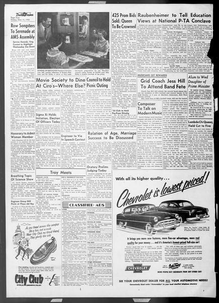 Daily Trojan, Vol. 44, No. 133, May 15, 1953