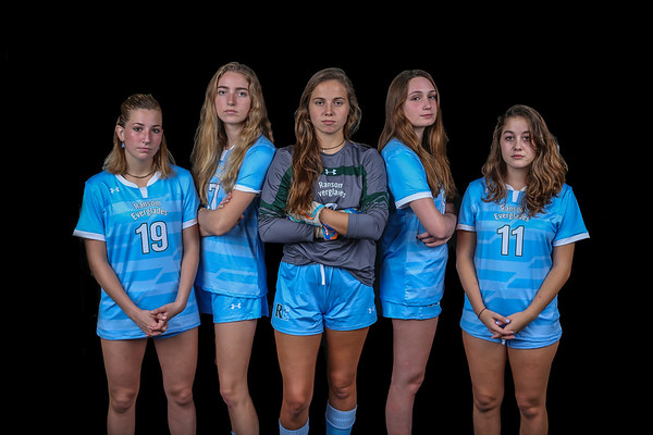 Ransom Everglades Soccer. Girls Photo Shoot, 2019