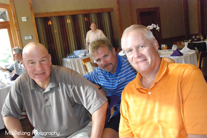 Matt Taddei, Casey Walters and John Moe