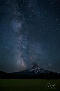 Milky Way over Mt Hood (8/30/2019)