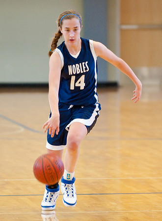 1/24/2009 - Nobles Girls Varsity Basketball vs Worcester