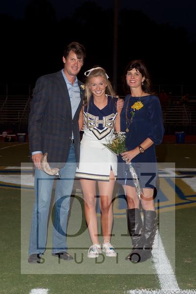 EHS Senior Night Football & Cheer