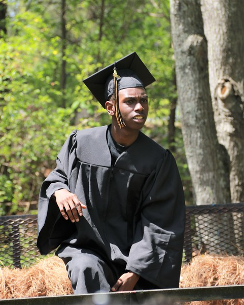 Rahsaan Jackson Cap and Gown