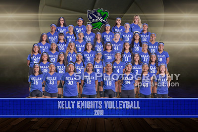 Kelly Middle School Volleyball