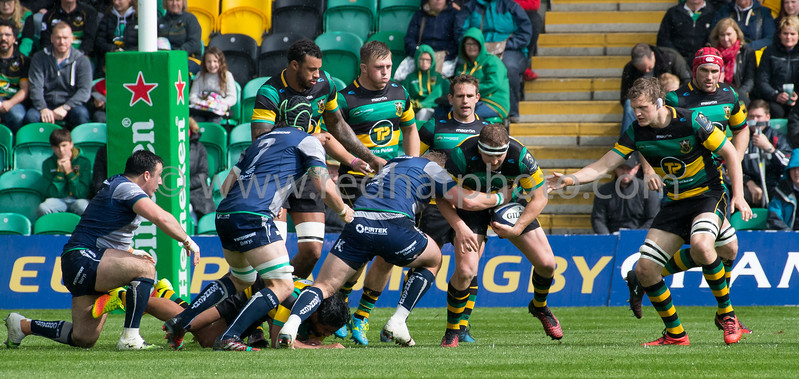 Northampton Saints vs Connacht Rugby, European Champions Cup play-off semi-final, Franklin's Gardens, 20 May 2017