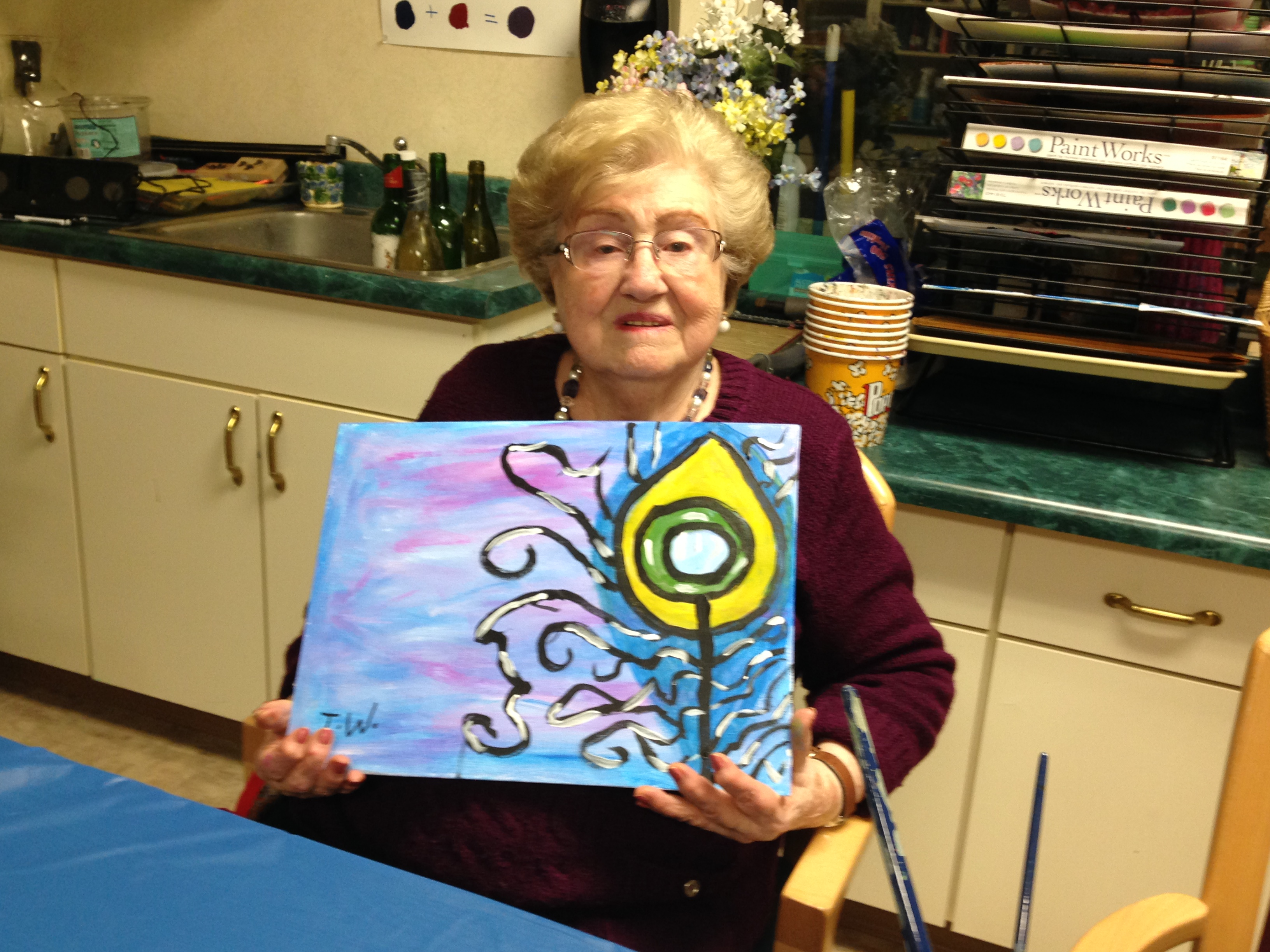 RHMA painting event 2/3/16