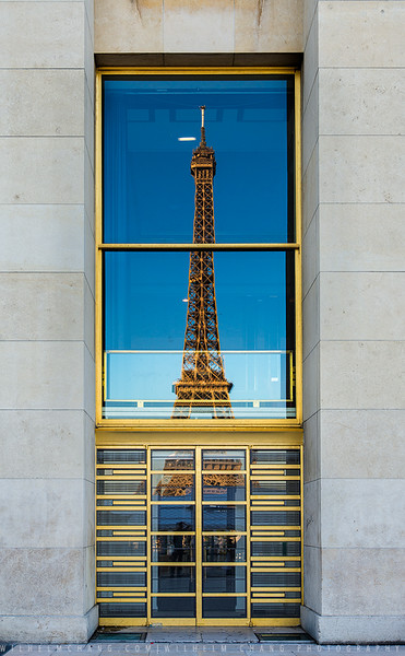 Eiffel Tower -Reflection