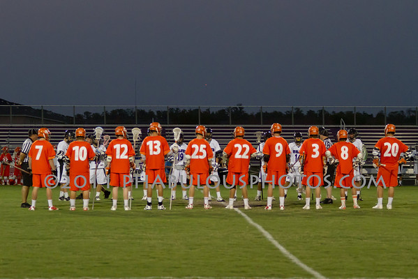 Boone @ Timber Creek Boys Varsity Lacrosse Districts - 2011