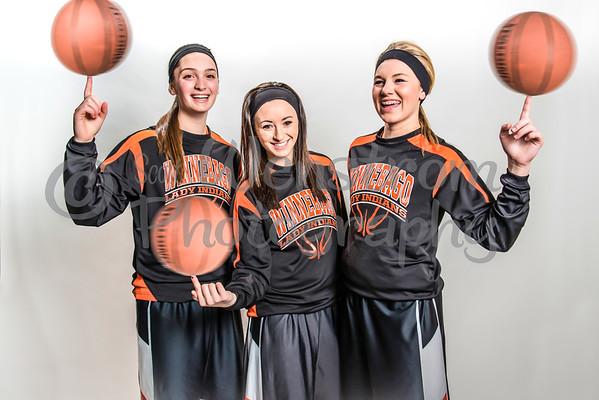 Winnebago Girls Basketball Seniors