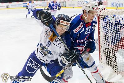 Playoff 1/4-Final (3): EHC Kloten - EVZ Elite A