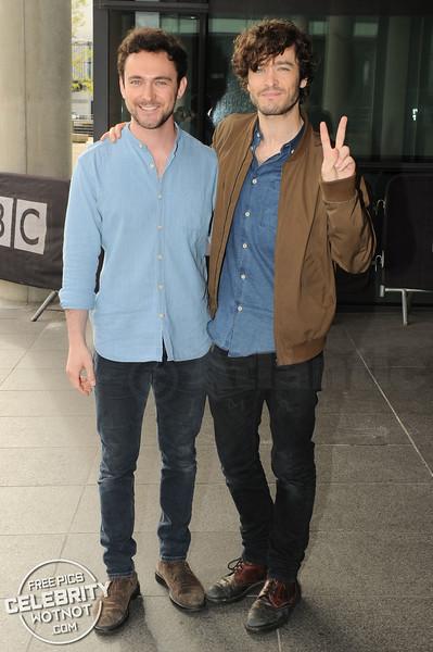 'Versailles' Stars Alex Vlahos & George Blagden Are Buddies In Real Life!