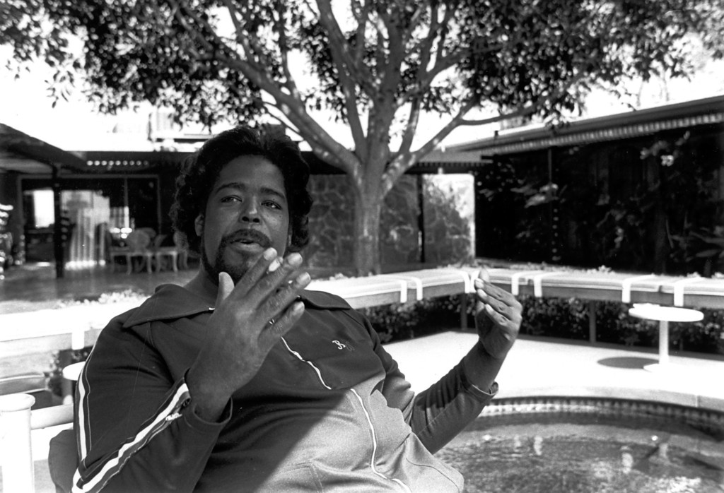 . May 1992 photo of Barry White.   L.A. Daily News file photo