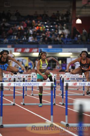60M Hurdles, Michigan only - 2013 New Balance Indoor HS Nationals