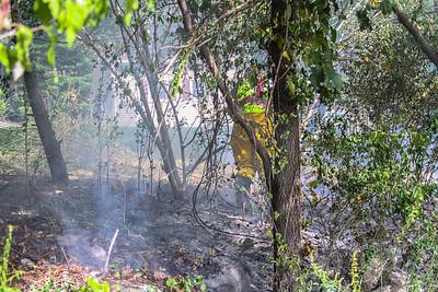9-26-16 Brush Fire, Aqueduct Road, Photos By Bob Rimm