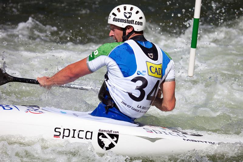 Benjamin SAVSEK (Slovakia), C1 - ICF Canoe Slalom World Championships 2009, La Seu d'Urgell (Spain)