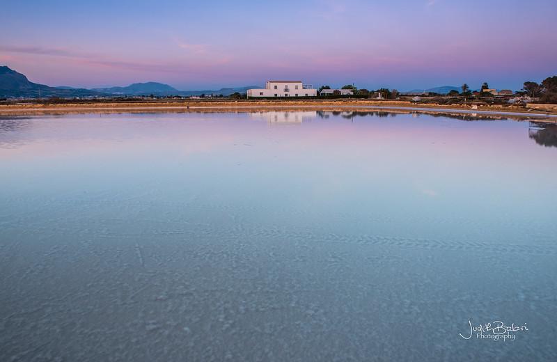 Salt Flats, Trapani,  Sicily
