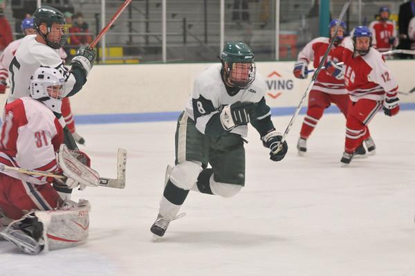 babson hockey v NEC  2.7. 2009