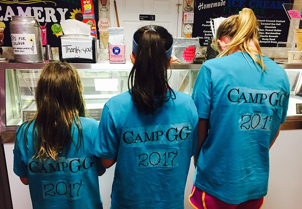 Ice cream and summer camp, who can argue with that?