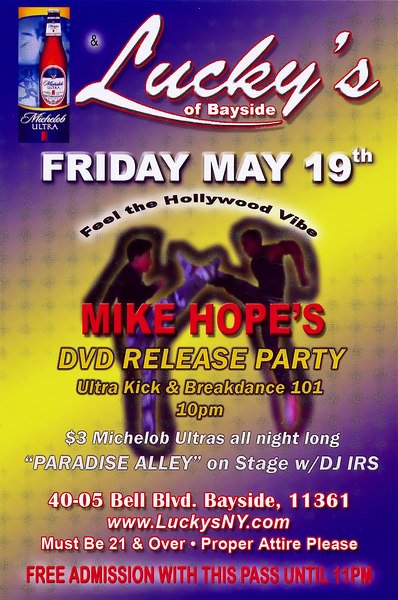 Mike Hope's DVD Release Party