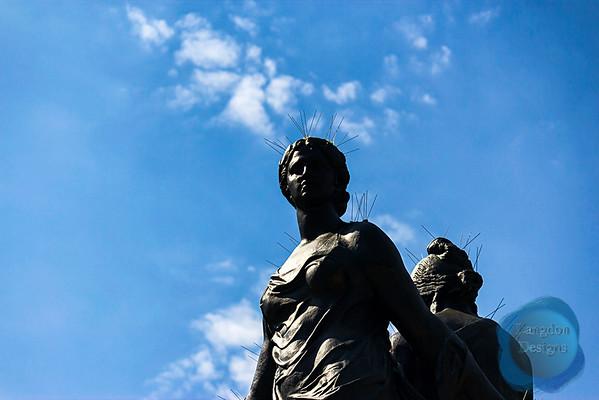 Barcelona Statues (2015)