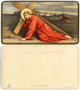 SZYMANSKI religious cards