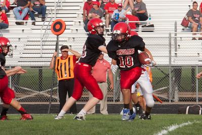 KMS football vs. Conway Springs 2015