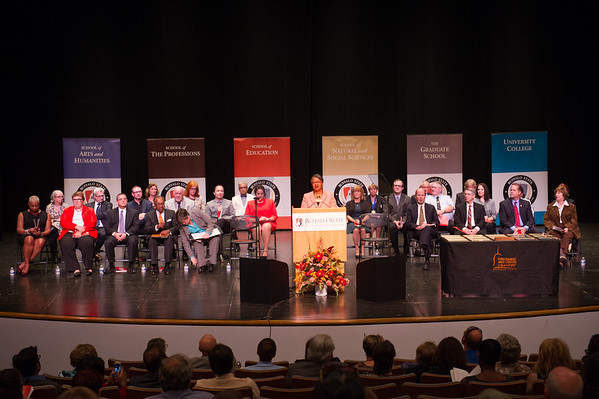 10/6/16 Faculty Staff Recognition Ceremony