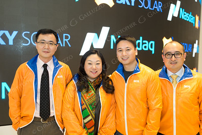 Sky Solar IPO Photo Opt Visit